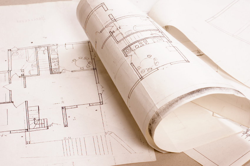 Building codes and blueprints